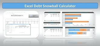 Debt Snowball Calculator Excel Template Metabots Co