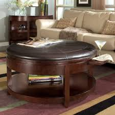 ottomans incredible oversized rage man coffee table round leather intended for ottoman ideas 1