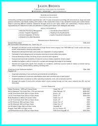 Construction Superintendent Resume Sample Free Maker 8189