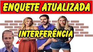 BBB 2021 : ENQUETE ATUALIZADA JA DEFINE ELIMINADO,RODOLFO, KERLINE E SARAH  ? INTERFERÊNCIA NO BBB 21 - YouTube
