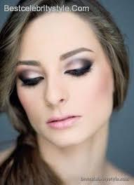 best eye makeup for navy blue dress