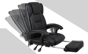 home office computer desk massage chair with footrest reclining executive ergonomic vibrating office chair furniture in office chairs from furniture on