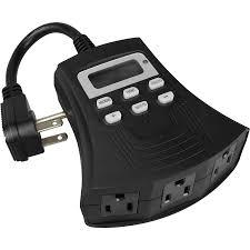 utilitech 15 amp 3 digital residential plug in countdown lighting timer