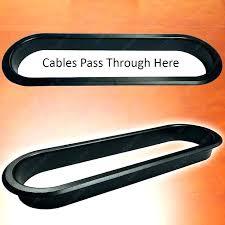 desks cable grommet office desk wire hole large low profile oval desk grommet office desk cable desks cable grommet