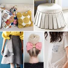 Don't count sewing as part of your creative repertoire? No worries, there  are tons of incredible things you can still do using fabric!