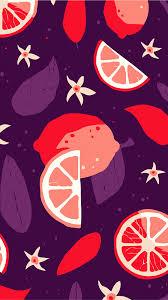 Wallpaper iphone 4k pattern fruit