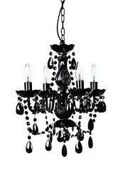 small black chandelier the original gypsy color 4 light h nz