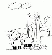 Small Picture Parable of the lost sheep clipart collection