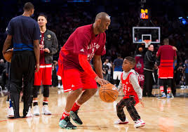 lebron james son playing basketball at home. Fine Son Western Conferenceu0027s Kobe Bryant Of The Los Angeles Lakers 24 Plays  Around On Lebron James Son Playing Basketball At Home Y