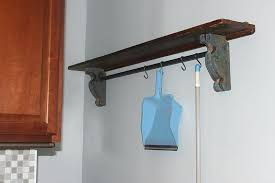 shelf bracket with rod holder shelf bracket with closet rod holder beautiful beautiful closet shelf bracket