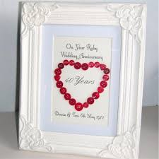 unique 40th wedding anniversary gift ideas on with picture frightening for friends my wife husband