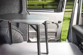 vw t5 t6 camping table campervan kombi california n s sliding door trim table