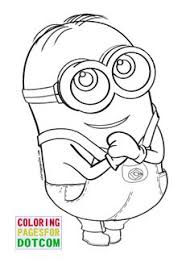 Small Picture minion coloring page 06 coloring Pinterest Kids colouring