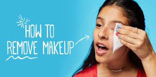 how to remove makeup with makeup remover