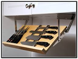 Under Cabinet Knife Storage | Home Design Ideas