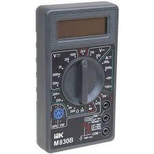 <b>Мультиметр цифровой IEK Universal</b> M830B в Москве – купить по ...