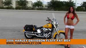 used 2006 harley davidson flstf fat boy motorcycles for sale youtube