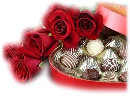 """Résultat de recherche d'images pour """"gif rose et chocolats"""""""