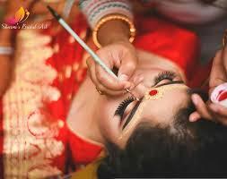 does bridal makeup cost in kolkata