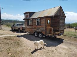 Small Picture A 160 sq ft tiny house made from reclaimed barn wood Currently