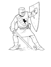 Free knight coloring pages to print for kids. Free Knight Coloring Page Coloring Home