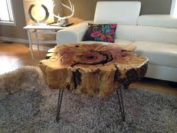 stump end table end table oval glass coffee tables wood stump side table natural wood furniture