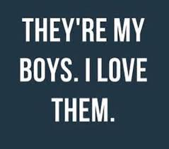 Love My Son Quotes Unique My Man And Our Son And Don't Mess With Either Of My Boys Either