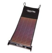 LightSaver Portable Solar Charger unrolled | PowerFilm Inc.