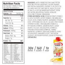 premier protein shake bananas cream 30g protein 11 fl oz 12 ct walmart