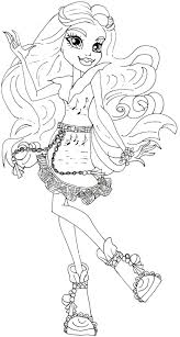 Small Picture Free Printable Monster High Coloring Pages