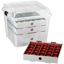 Rubbermaid Christmas Ornament Storage