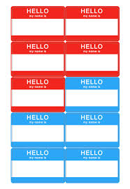 How To Print Avery Name Badges Name Tag Template Download Name Badge Templates