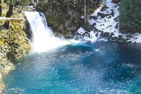Tamolitch blue pool Winter The Tamolitch Blue Pool Near Sahalie Falls The River Only Flows Over The Falls The Source Weekly Mckenzie Bridge Blue Pool And Beyond Local News Bend The