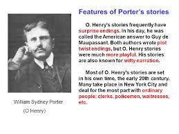after twenty years o henry o henry was a prolific american  features of porter s stories o henry s stories frequently have surprise endings