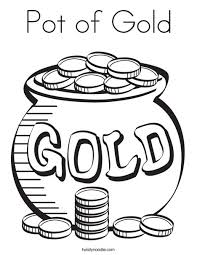 Small Picture Pot of Gold Coloring Page Twisty Noodle