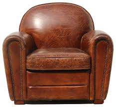 pasargad genuine leather paris club chair