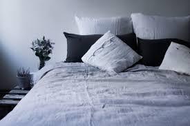 linen duvet cover silver linen bedding soft washed linen sheets