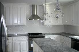 grey granite kitchen ideas gray black countertops light wooden worktop modern white floor inspiring for