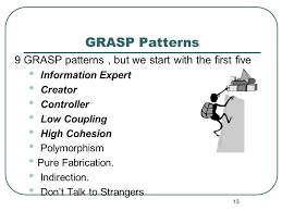 Grasp Patterns Best GRASP Designing Objects With Responsibilities Chapter 48 Applying
