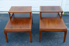 sold lane midcentury end tables – the constant garage sale