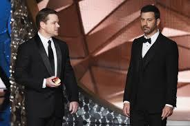 Five ways Jimmy Kimmel trolled Matt Damon at the Oscars