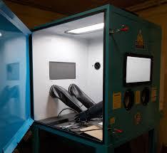 Abrasive Blasting Cabinet Sandblasting Cabinet Bb4000xld Bvt