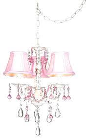 pink plug in chandelier plug in mini chandelier pretty in pink swag style plug in mini