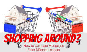 How To Compare Mortgages From Different Lenders