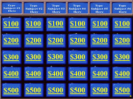 Jeopardy Powerpoint Template Free Jeopardy Powerpoint Template With Music lisapeng 1