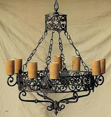 chandeliers chandelier in spanish candle holder table best of wrought iron full size s espanol