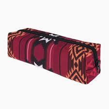 indian red 3d printing cosmetic bag women fashion makeup bag organizer pouch necessaire trousse de maquillage