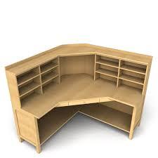 office table models. Modren Table Amazingofficedeskcornermodels3dmodeloffice On Office Table Models