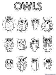 They are often associated with magic and macabre in popular fiction. Just Color Owl Coloring Printables 1 1 1 1
