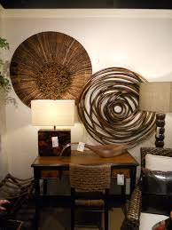 sumptuous round wood wall decor circular unique ptm images wooden mirror entrancing new at norwood organic